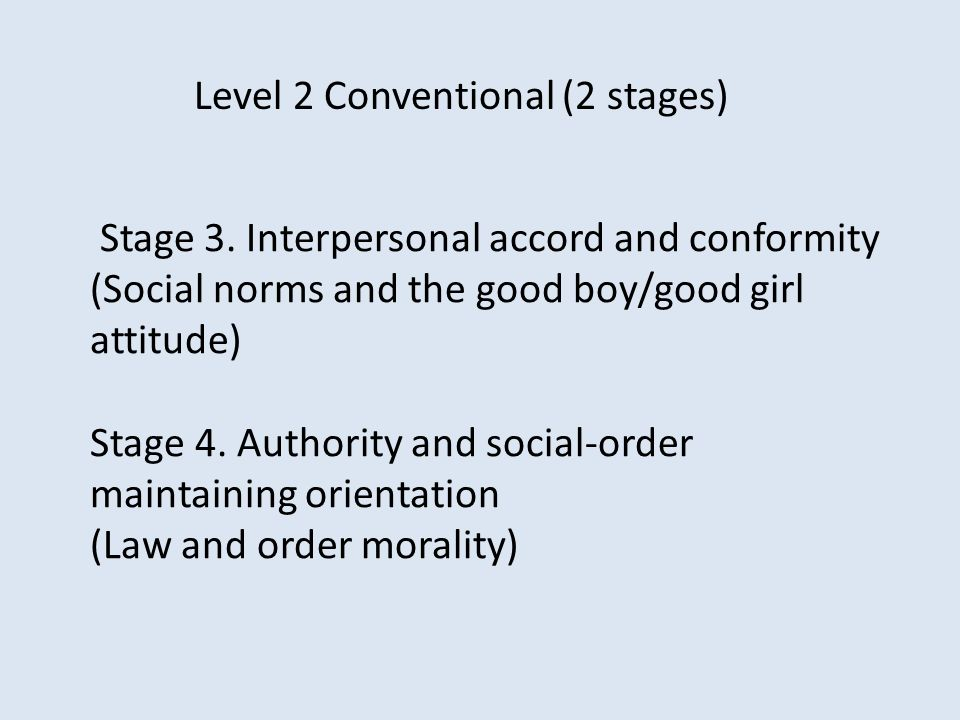 Level 2 Conventional (2 stages)