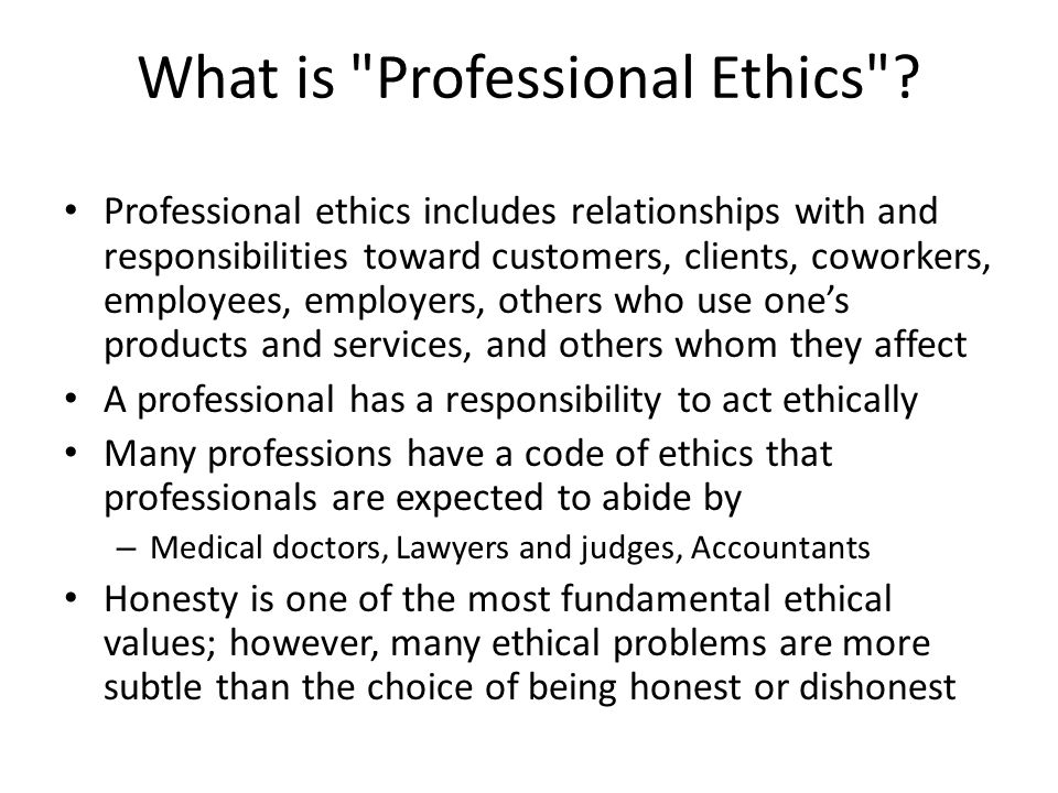 Dating a client ethics