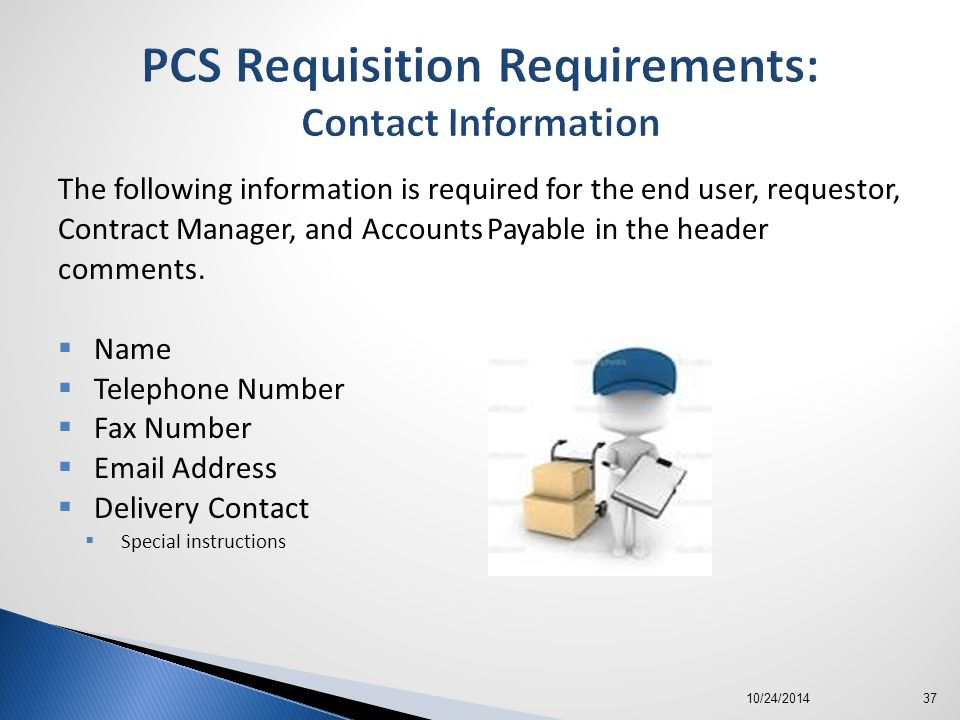 The Requisition To Contract Process  Ppt Download