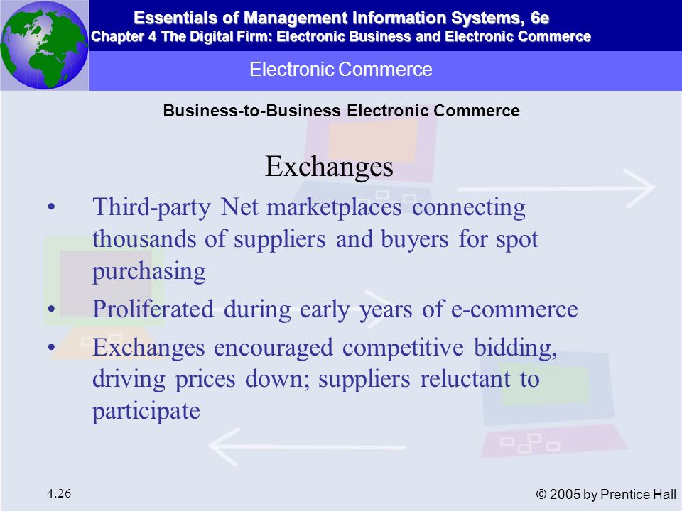 Business-to-Business Electronic Commerce