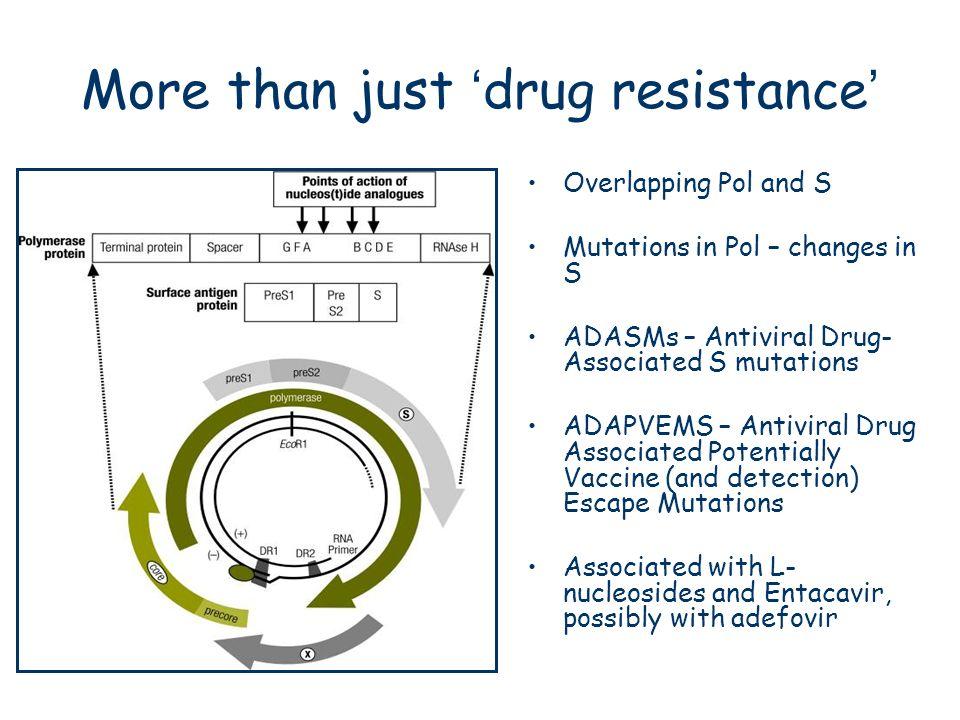 More than just 'drug resistance'