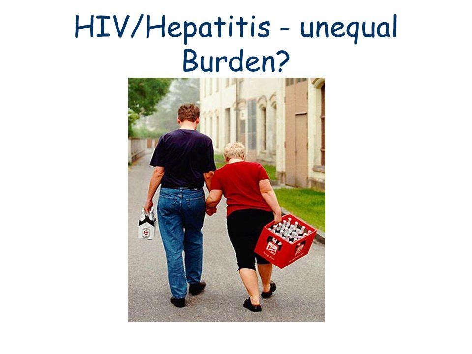 HIV/Hepatitis - unequal Burden