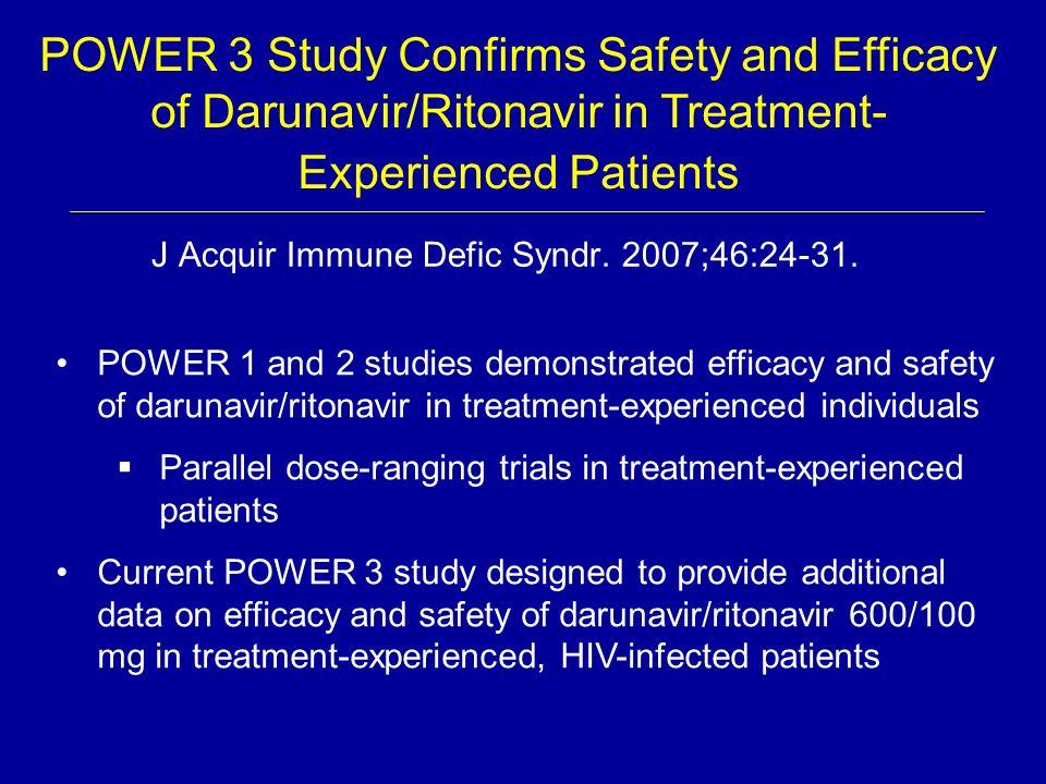 J Acquir Immune Defic Syndr. 2007;46:24-31.