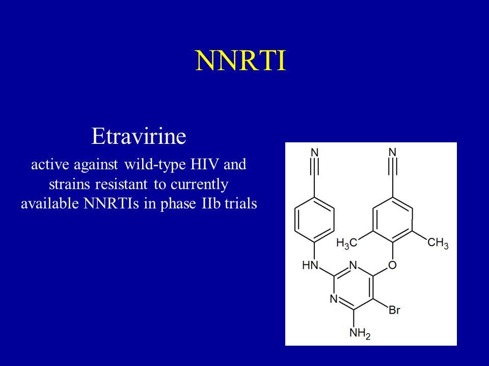 NNRTI Etravirine.