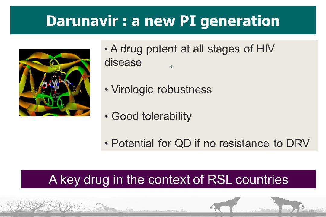 Darunavir : a new PI generation