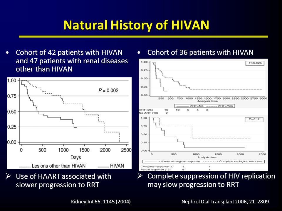 Natural History of HIVAN
