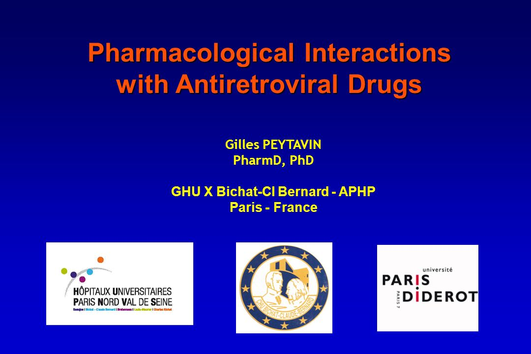 Pharmacological Interactions with Antiretroviral Drugs