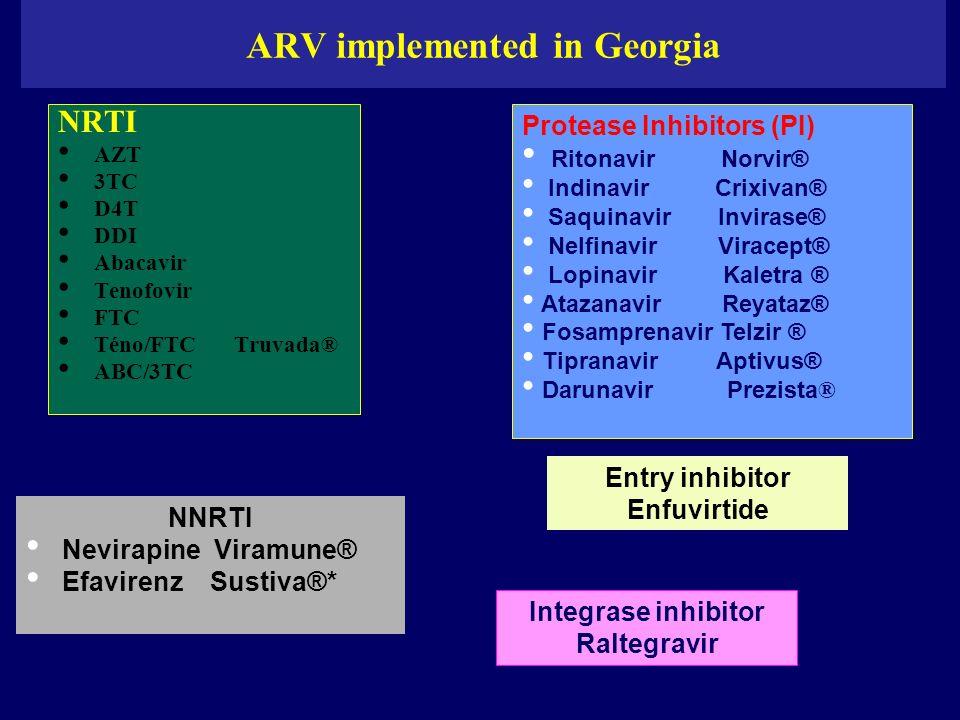 ARV implemented in Georgia