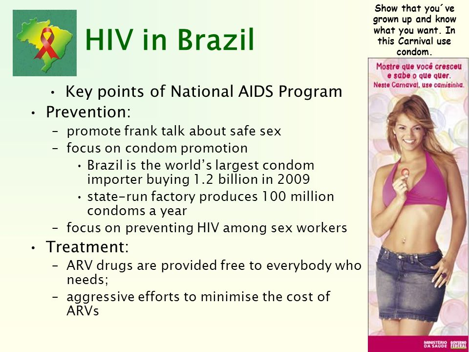 Key points of National AIDS Program