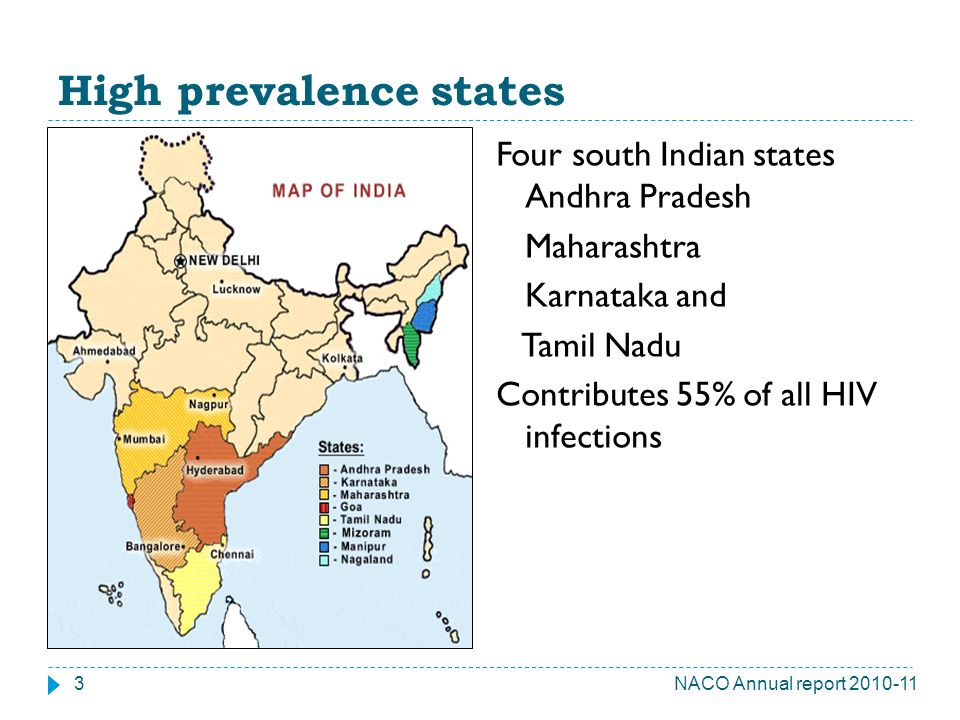 High prevalence states