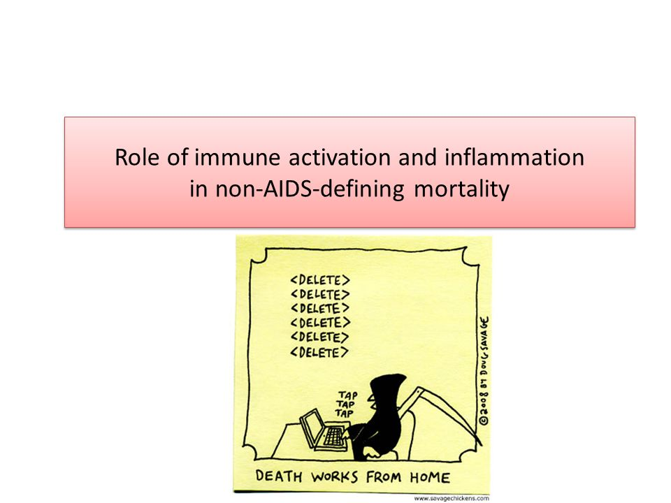 Role of immune activation and inflammation in non-AIDS-defining mortality