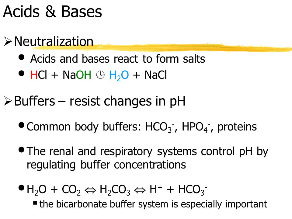 acids bases buffers Even if you've never set foot in a chemistry lab, chances are you know a thing or  two about acids and bases for instance, have you drunk orange juice or cola.