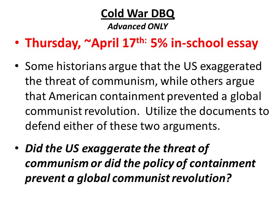 cold war essay short essay about smoking pros of using paper week 29 31 4 2014 unit iv post ww ii