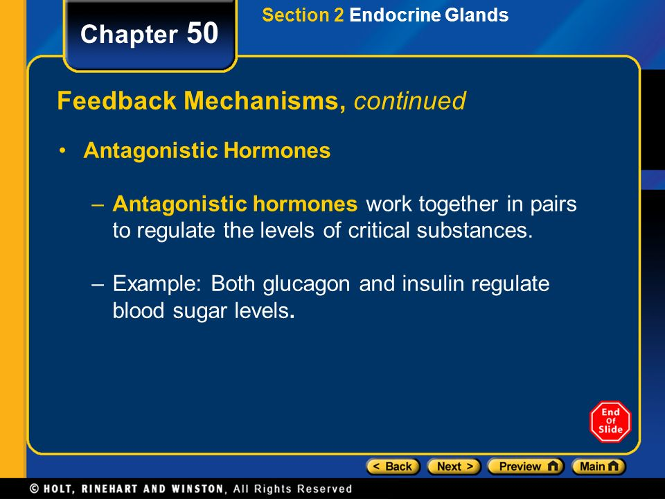 endocrine system and negative feedback mechanisms Chapter 5 feedback control in endocrine systems principles and practice of endocrinology and metabolism chapter 5 feedback control in endocrine systems daniel n darlington and (negative feedback) mammalian organisms model for a simple endocrine feedback system.