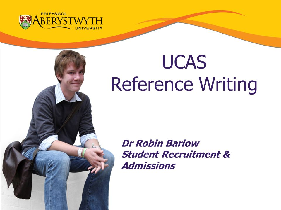 Help writing reference ucas