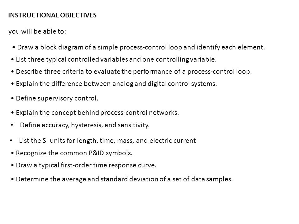process control introduction