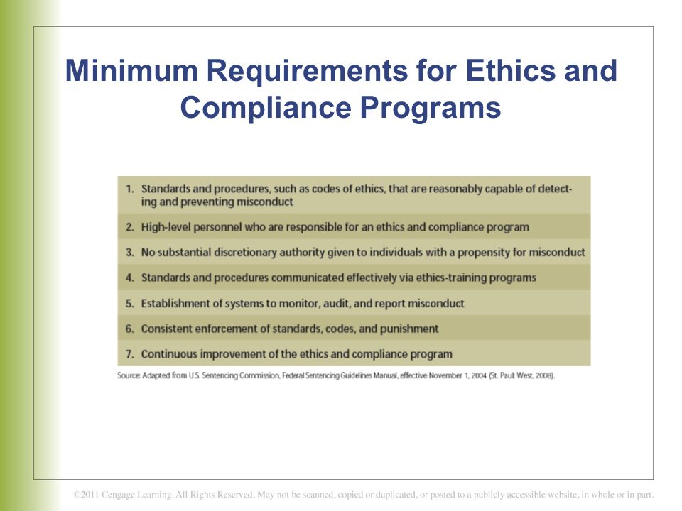 ethics programs can employees be trained Compliance is no different you can implement an effective compliance program  with a small invest-  you can get basic training for your key employees as part.