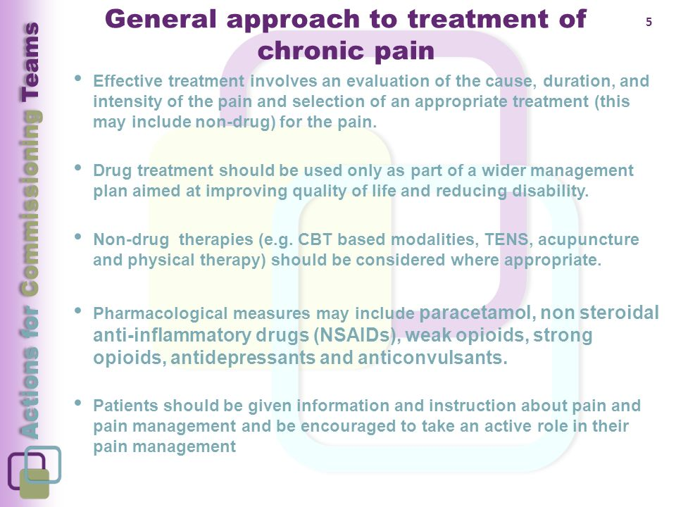 Prescribing For Chronic Non Cancer And Neuropathic Pain
