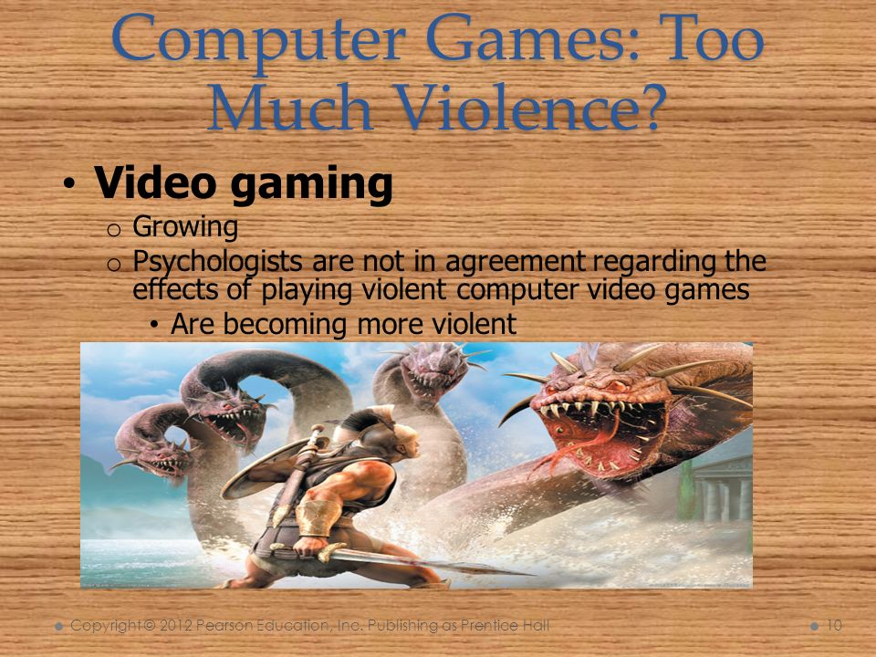 effects of playing computer games on Review of computer game studies 3 extensive review of almost 30 years of computer game studies on effects positive or negative effects of diverse game contents will be reviewed individually.