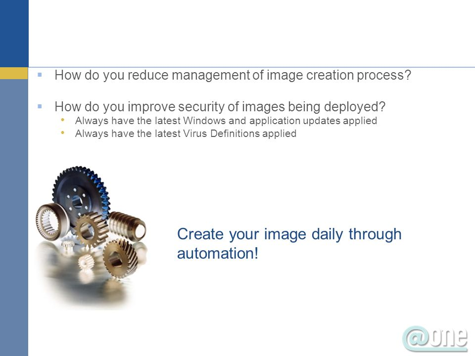 Create your image daily through automation!