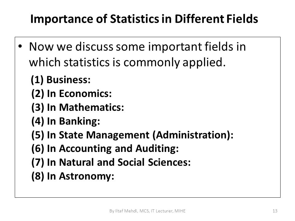 importance of statistics in management science What is the importance of statistics in business and economics as probability theory and management science are the importance of statistics in business.