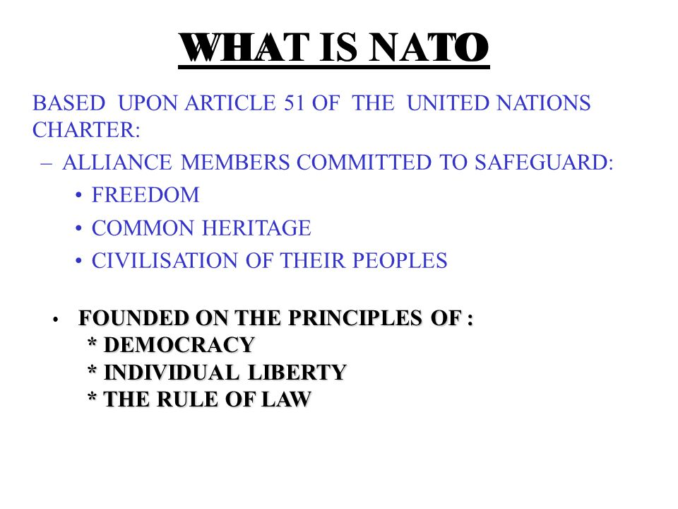 an introduction to the history of nato Part one of our american civil war article: introduction and a brief summary.
