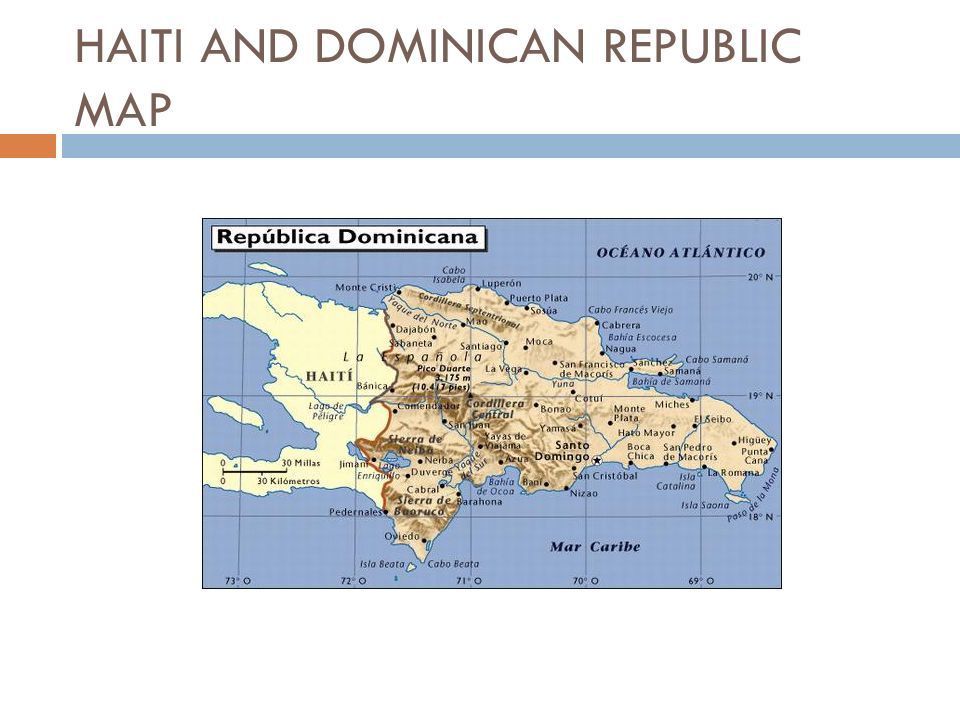 haiti and dominican republic Haiti and the dominican republic may share a tiny caribbean isle, but they have always despised each other the earthquake may have changed that.