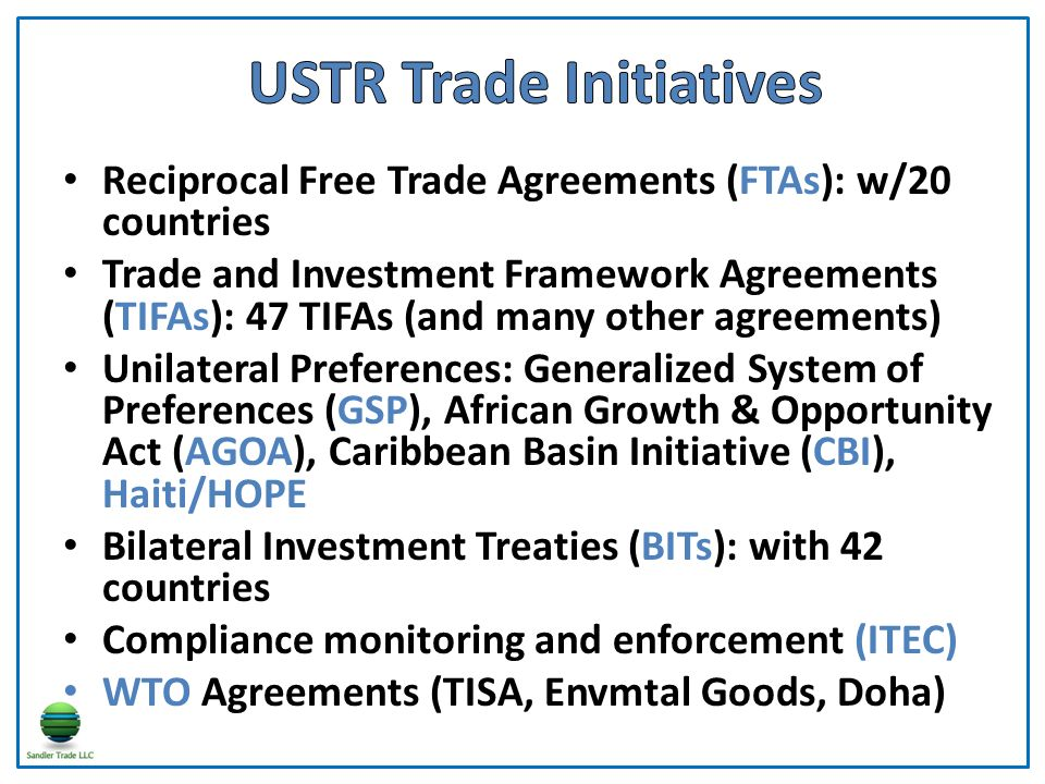 Trade Responsibilities In The Executive Branch Ppt Video