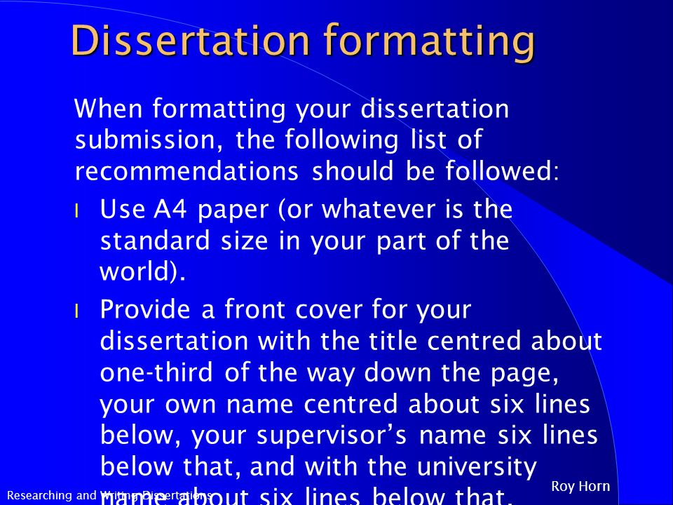 dissertation margins cm Working in word, long documents and thesis formatting you will change this to 2 cm margins all around setting custom margins for electronic submission.