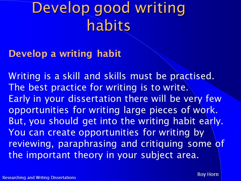 at the of a writing assignment get into the habit How to prepare for a writing assignment at a college or university teaching job interview  you can always practice writing in advance to get into the habit of.