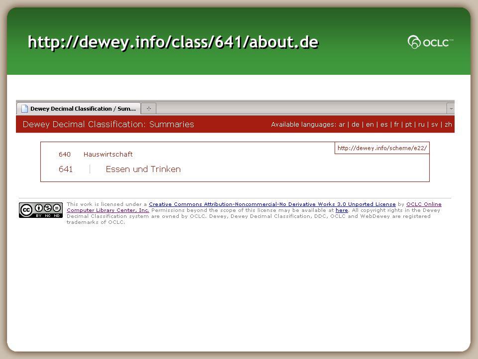 http://dewey.info/class/641/about.de