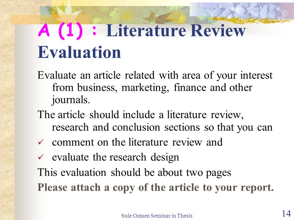 literature review of research design A literature review is the effective evaluation of selected documents on a research topic a review may form an essential part of the research process or may constitute a research project in itself.