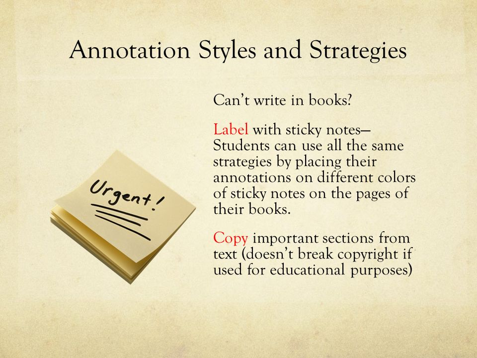 A close reading strategy for better comprehension ppt video annotation styles and strategies ccuart Choice Image