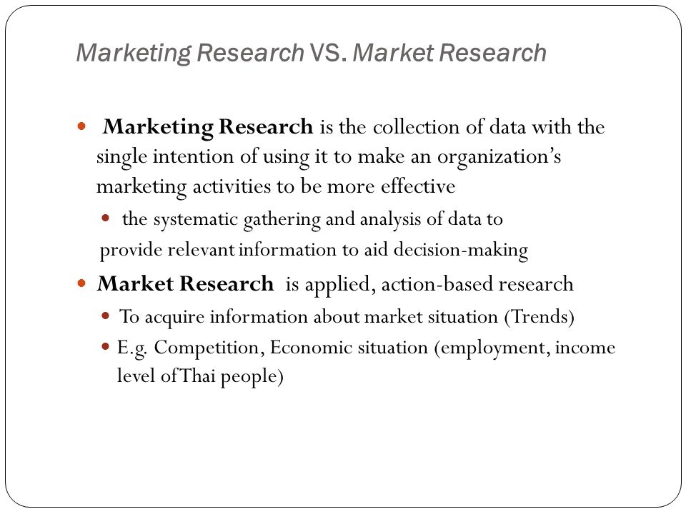 sources of data in marketing research Data collection in marketing research is a detailed process in which a planned search for all relevant data is made by researcher secondary data- secondary data is the data that have been already collected by and readily available from other sources in quantitative research, data can be colleted by two methods.