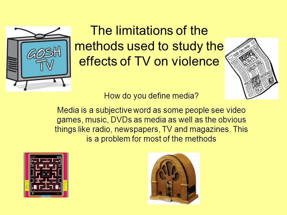 the effects of tv violence on children Free essay: the effect of television violence on children television can be a powerful influence in developing value systems and shaping behavior the.