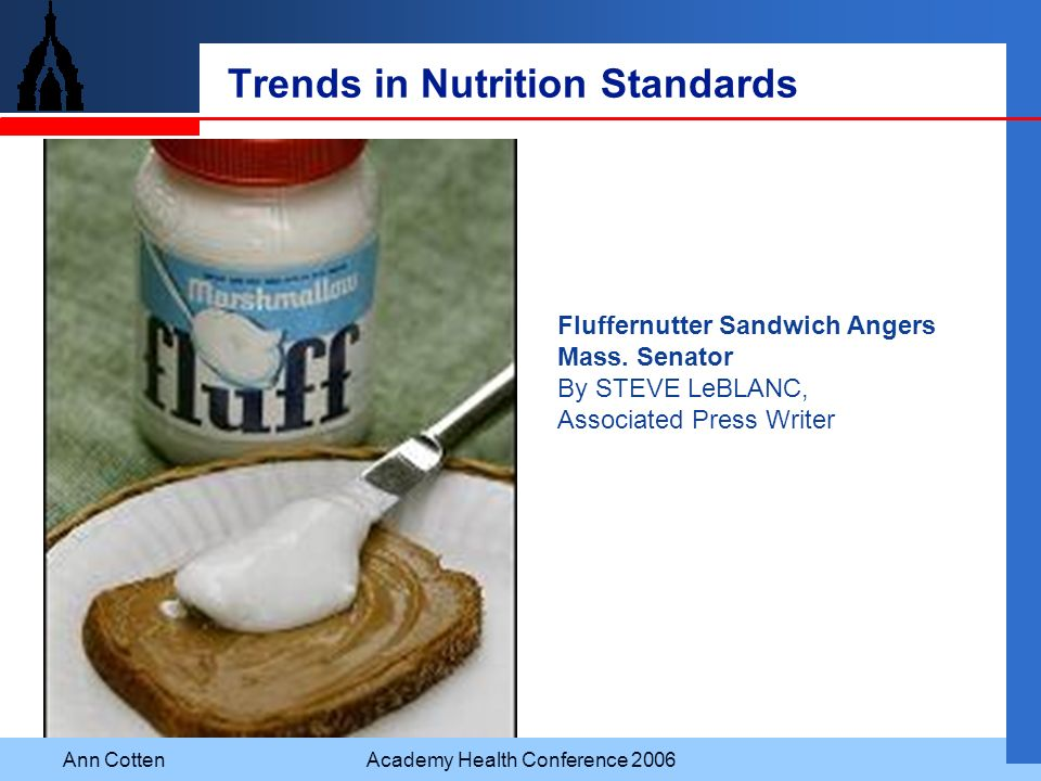 Trends in Nutrition Standards