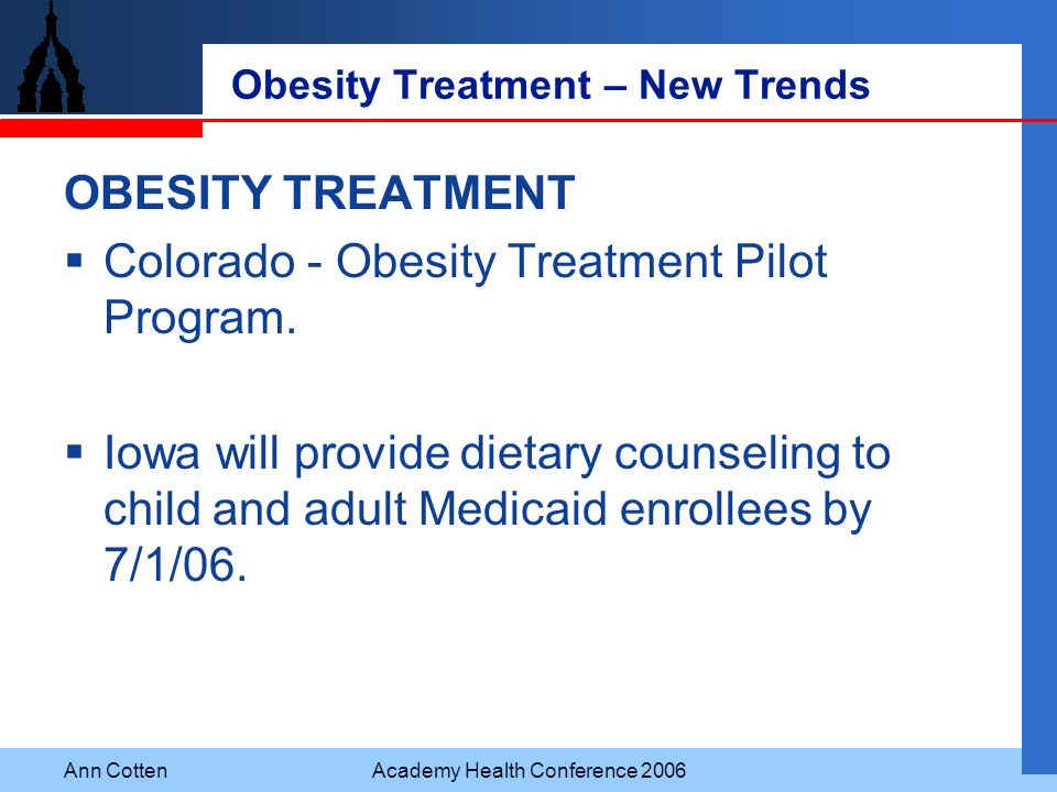 Obesity Treatment – New Trends