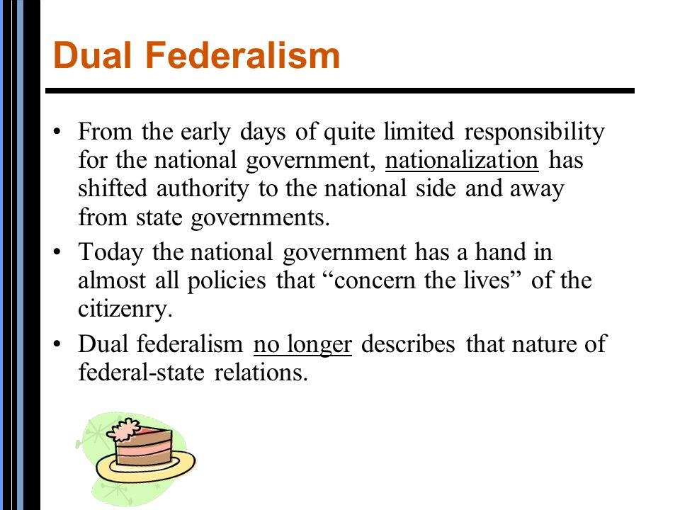 federalism in american government today To say that the united states formed a federal system that operates today is to say that the governments of the states coexist with the national, or federal, government.
