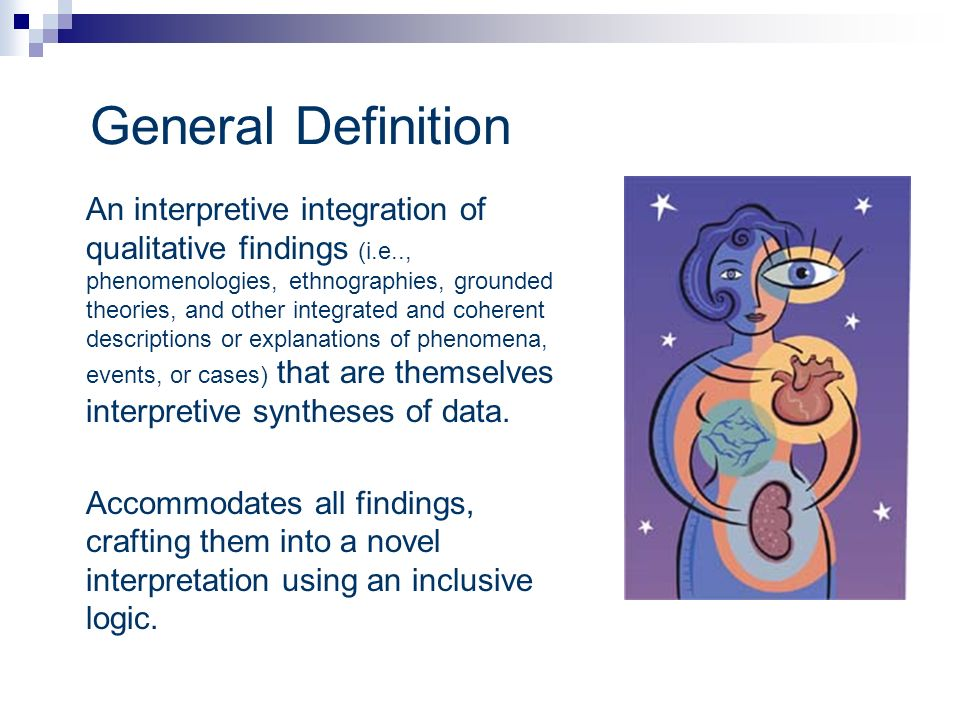 General Definition