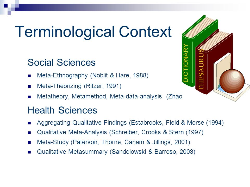 Terminological Context