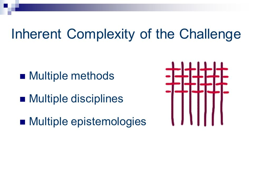 Inherent Complexity of the Challenge