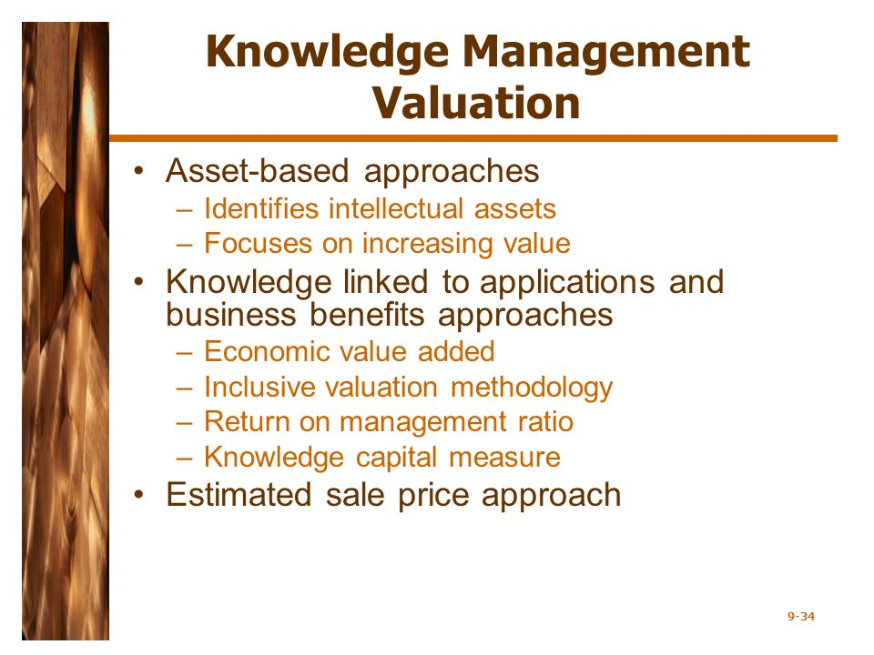 Chapter 9 Knowledge Management