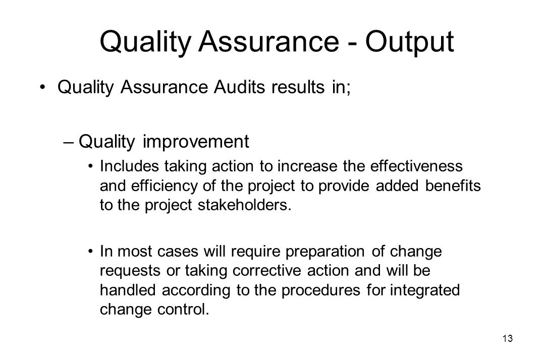 project on quality assurance 1 quality assurance project plan review checklist this checklist will be used to review quality assurance project plans (qapps) that are submitted to the california air resources board.