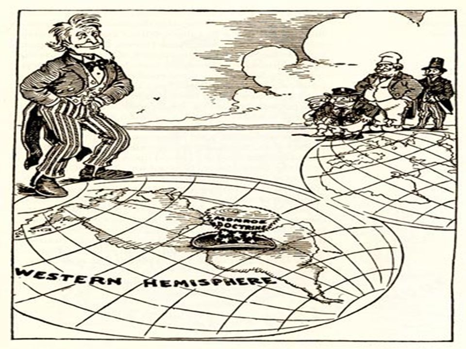 the events leading to the monroe doctrine essay The monroe doctrine took for granted that the us would remain aloof from european conflicts: in the wars of the european powers in matters relating to themselves we have never taken any part.