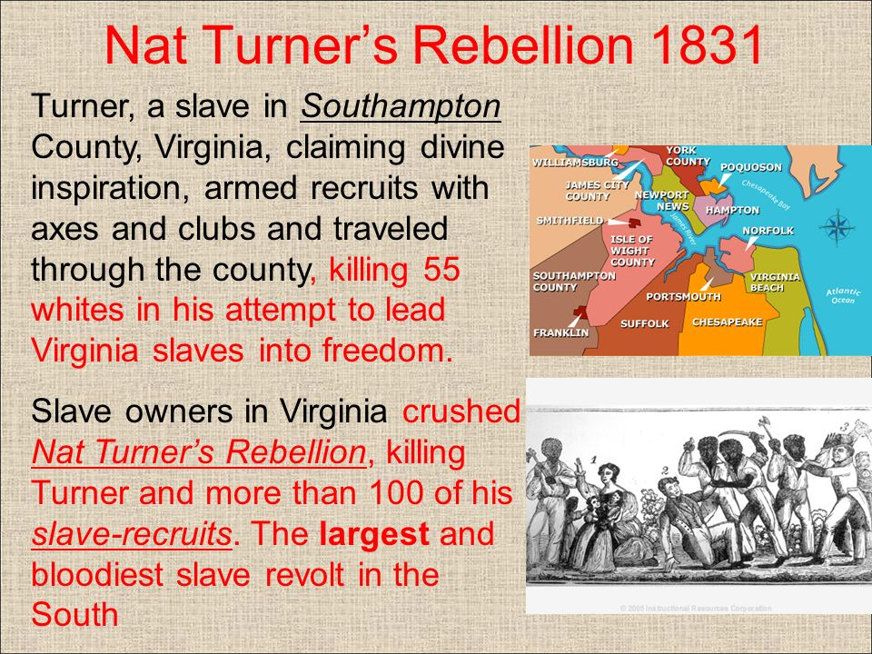 "an analysis of the silent rebellion by nat turner The book, the fires of jubilee: nat turner's fierce rebellion, by stephen b  oates,  and writings with ""no definite meaning"" (102) were found with nat's  wife,."