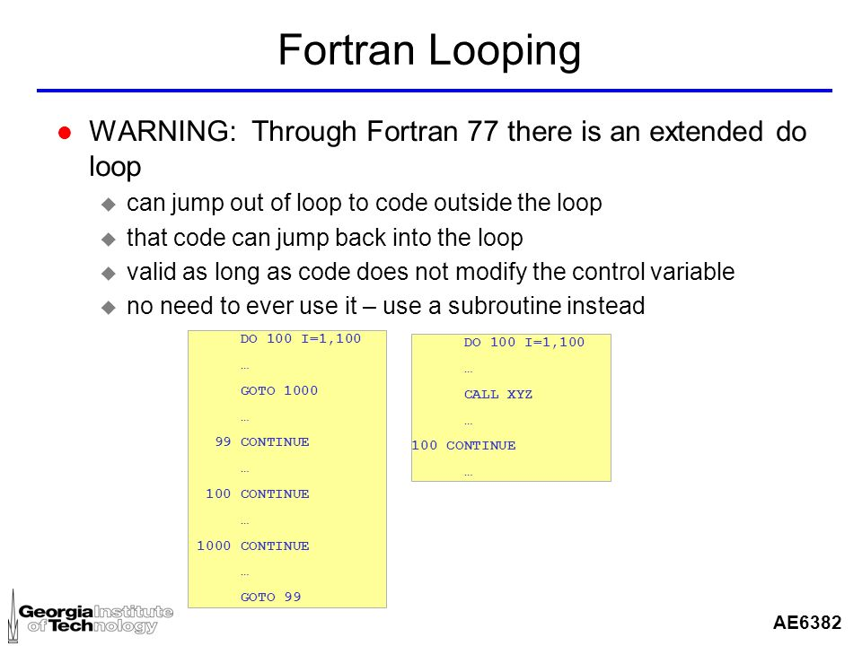 how to break a while loop in fortran