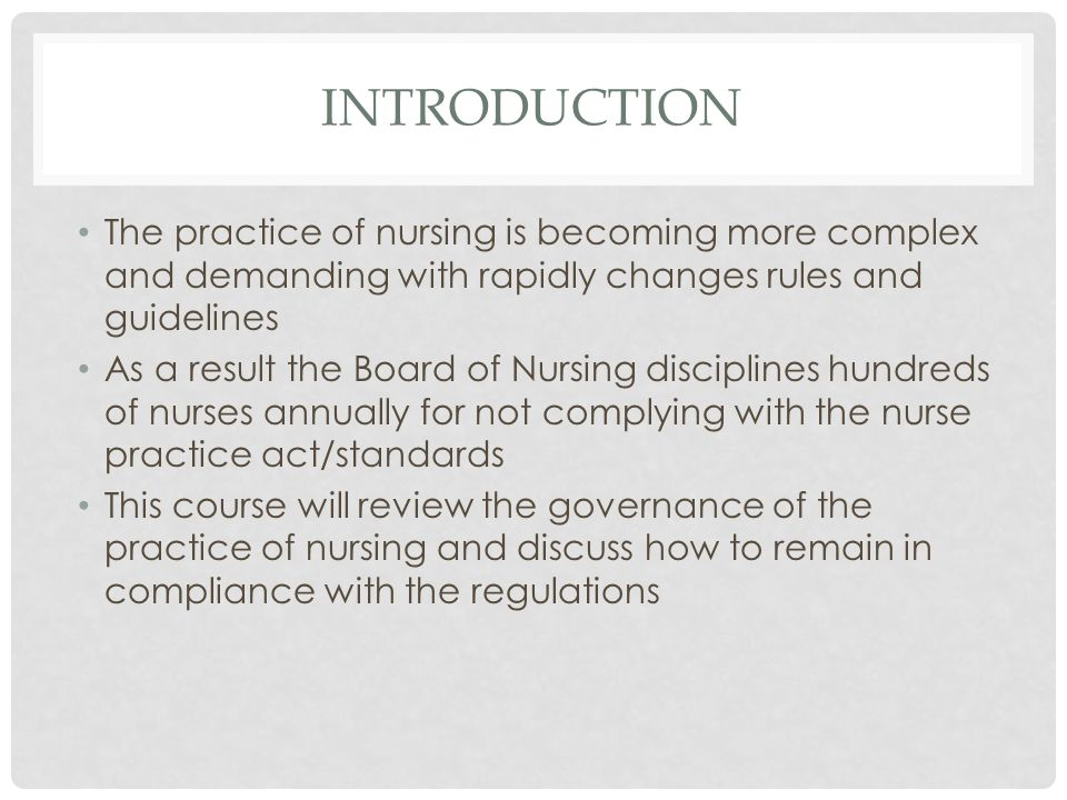 florida nurse practice act How does the ncsbn model compare with florida's nurse practice act and regulationswhich act/ rules do you prefer and why.