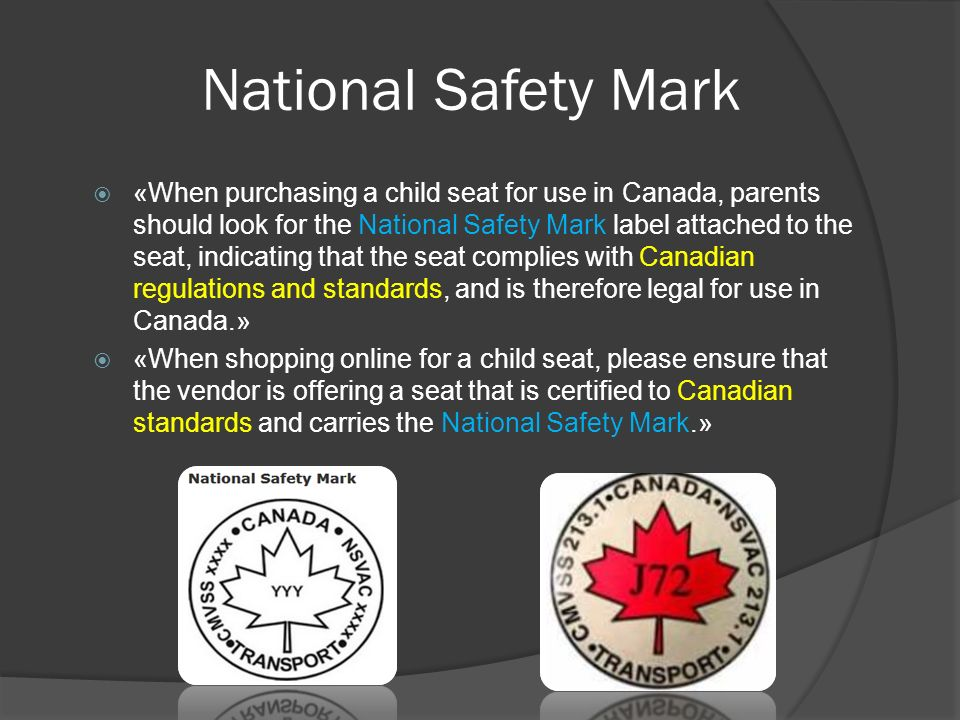 Motor vehicle safety Child safety - ppt download