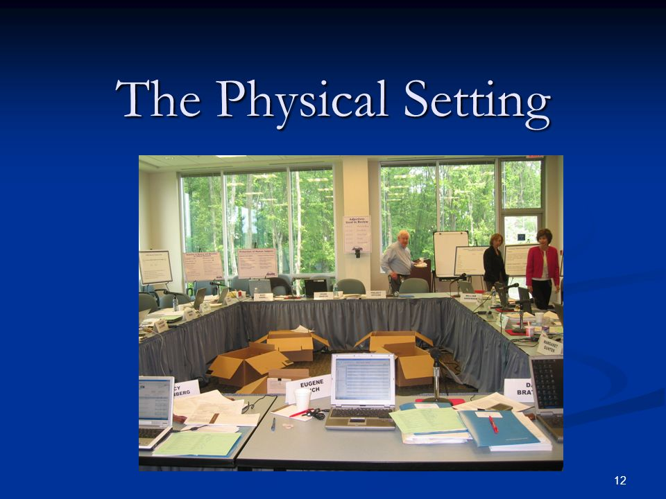 The Physical Setting
