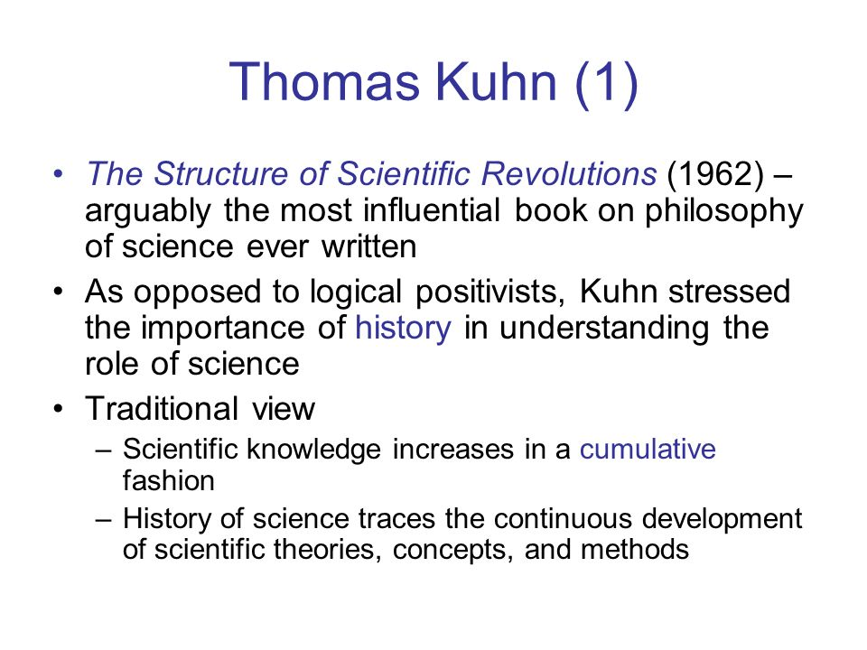 a dissertation of thomas kuhns structure of scientific revolutions This webpage is an analysis of my antonia by willa cather for dr critique is a literary technique a literary analysis of a novel that means.
